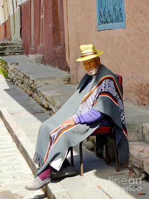 Colonial Man Photograph - Sunny Grandpa II by Al Bourassa