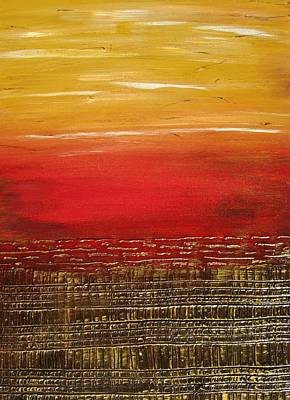 Painting - Sunny Horizon by Kathy Sheeran