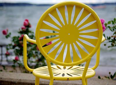 Union Terrace Photograph - Sunny Side Up by Linda Mishler