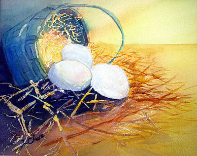 Painting - Sunny Side Up by Lori Chase