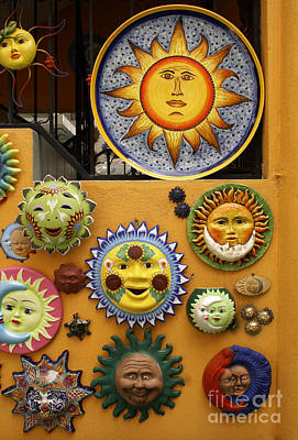 Photograph - Sunny Wall San Miguel De Allende Mexico by John  Mitchell