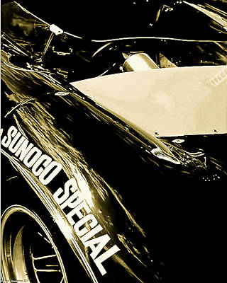 Art Print featuring the photograph Sunoco Spl by Michael Nowotny