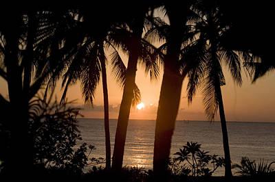 Sunrise At Bali Island Art Print by Tim Laman