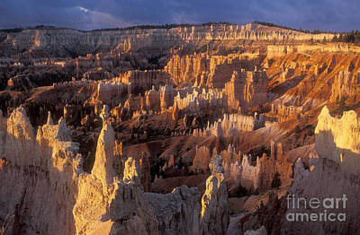 Photograph - Sunrise At Bryce Canyon Amphiteather by Sandra Bronstein