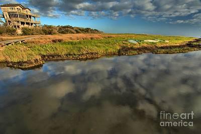 Photograph - Sunrise At Brooks Island Refuge by Adam Jewell