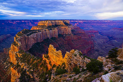 Sunrise At Cape Royal Grand Canyon Art Print by John Reckleff