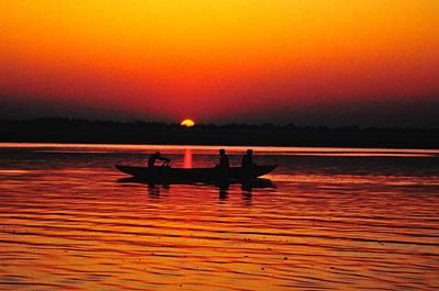 Calm Digital Art - Sunrise At Indian Sea  by Sumit Mehndiratta