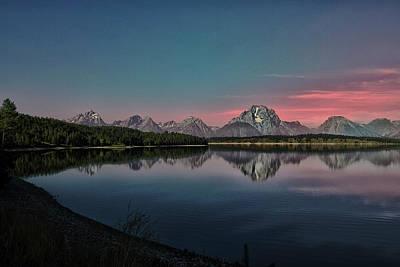 Sunrise At Lake Art Print by Gemma