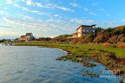Photograph - Sunrise At Obx by Adam Jewell
