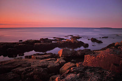 Photograph - Sunrise At Otter Point by Rick Berk