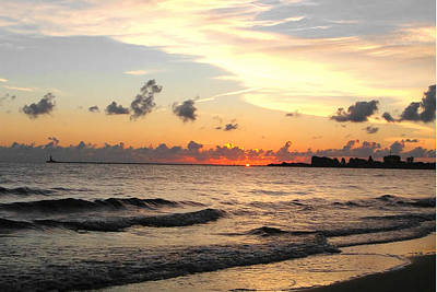 Sunrise Photograph - Sunrise At Sea 4 by Sumit Mehndiratta