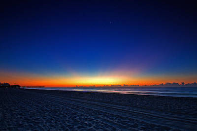 Sunrise At The Beach IIi Art Print