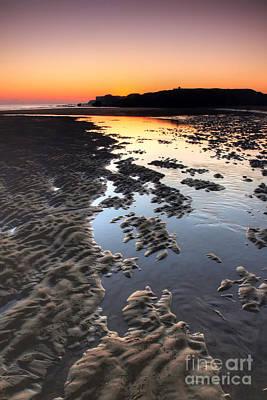 Sunrise At Trow Rocks Print by Ray Pritchard
