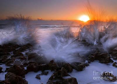 Sunrise Explosion Original by Mike  Dawson