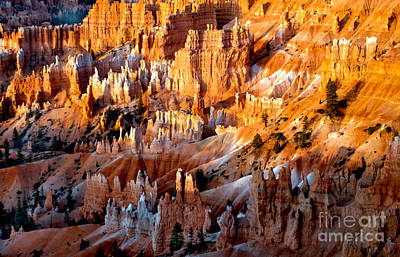 Photograph - Sunrise Hoodoos by Robert Bales