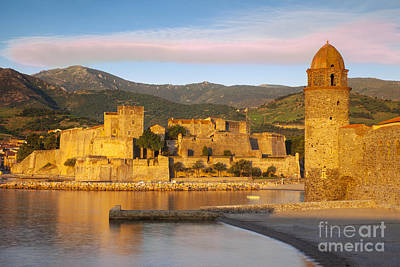 Sunrise In Collioure Art Print by Brian Jannsen