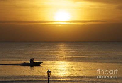 Wall Art - Photograph - Sunrise In Hillsboro Beach by Judith Hochroth