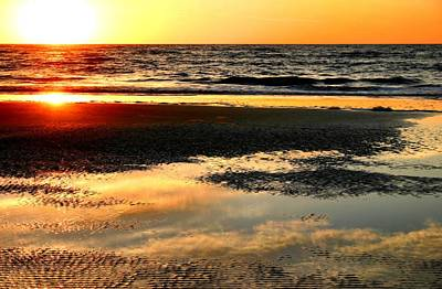 Photograph - Sunrise In Jekyll Island by Kristin Elmquist