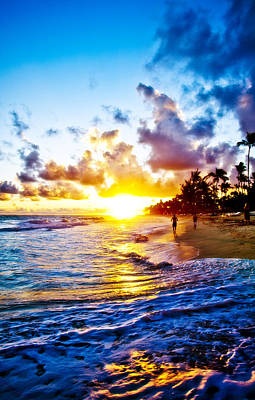 Photograph - Sunrise In Paradisus by Anthony Rego