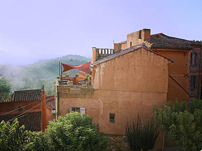 Sunrise In Roussillon Art Print