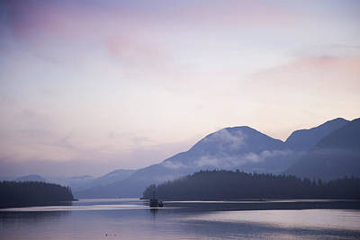 Sunrise In The Great Bear Rainforest Art Print by Taylor S. Kennedy