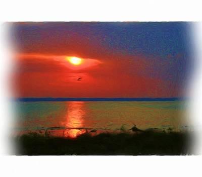 Sunrise In Trollland Original