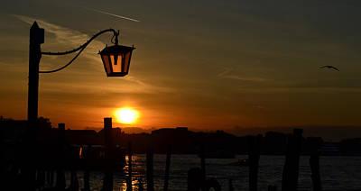 Sunrise In Venice Art Print