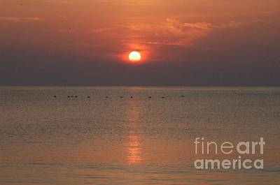Vero Digital Art - Sunrise In Vero Beach by Michael Vanatta