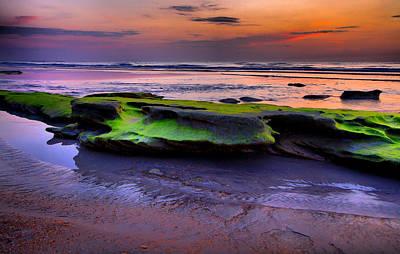 Seascape Photograph - Sunrise Mars by Scott Helfrich
