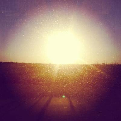 #sunrise #nature #sky #andrography Print by Kel Hill