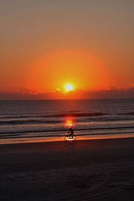 Photograph - Sunrise New Smyrna Beach by Jeanne Andrews