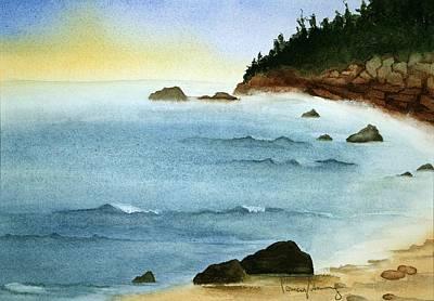 Sunrise On Big Bay Art Print