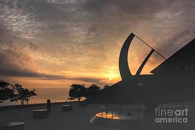 Photograph - Sunrise On Lake Michigan by David Bearden