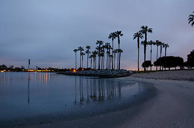 Photograph - Sunrise On Mission Bay by Margaret Pitcher