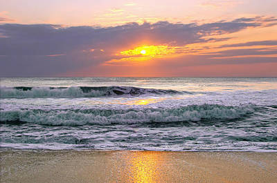 Photograph - Sunrise On The Outer Banks by Mary Almond