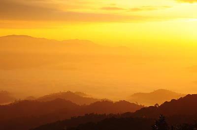 Sunrise Over Black Forest Mist  Original