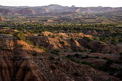 Photograph - Sunrise Over Caprock Canyons State Park by Melany Sarafis