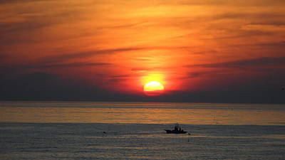 Photograph - Sunrise Over Gyeng-po Sea by Kume Bryant