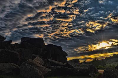 Little Round Top Digital Art - Sunrise Over Little Round Top by Dave Sandt