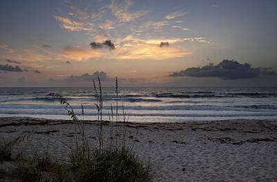 Photograph - Sunrise Over Melbourne Beach by Cheryl Davis