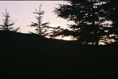 Sunrise Over Mt Still Art Print by C E McConnell