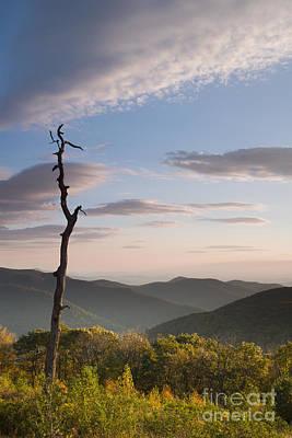 Shenandoah National Park Photograph - Sunrise Over Shenandoah National Park  by Dustin K Ryan