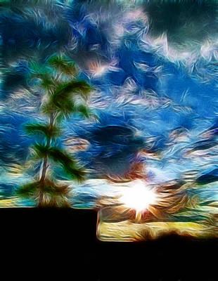 Sunrise Over Smithfield Art Print