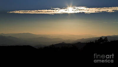 Photograph - Sunrise Over The Smoky Mountains by Dennis Hedberg