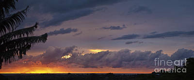 Photograph - Sunrise Pano 2  26 June 2012 by Odille Esmonde-Morgan
