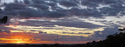 Photograph - Sunrise Panorama by Odille Esmonde-Morgan