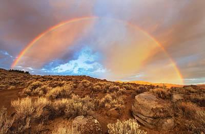 Photograph - Sunrise Rainbow by SB Sullivan