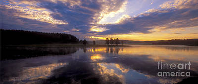 Photograph - Sunrise Reflections by Sandra Bronstein