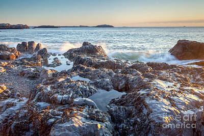 Photograph - Sunrise Rocks by Susan Cole Kelly