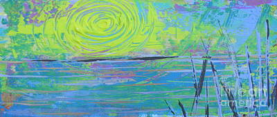 Sunrise Sunset 4 Art Print by Jacqueline Athmann